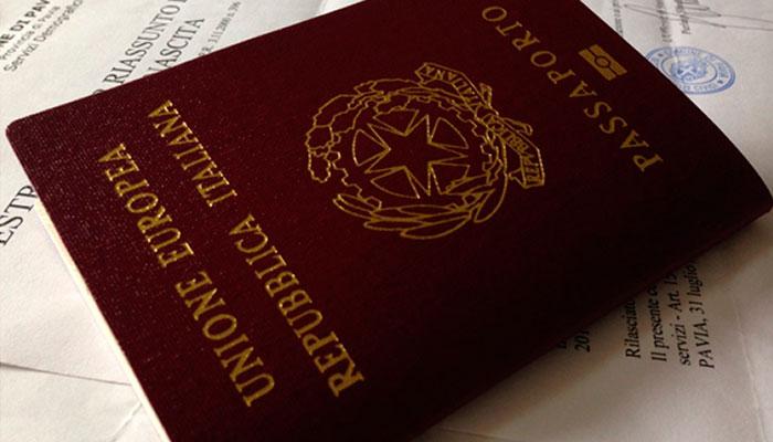 direito à cidadania italiana